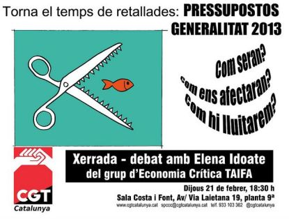 Xerrada Pressupostos 2013