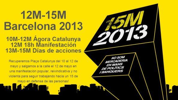 12M15M Barcelona 2013
